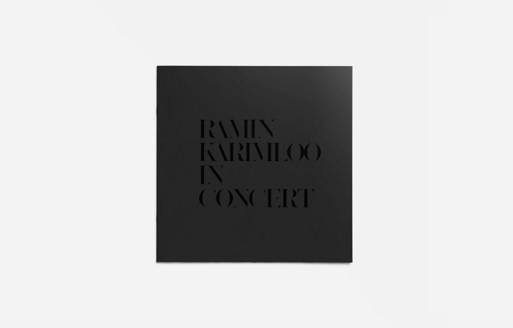 RAMIN KARIMLOO 来日コンサート 宣伝美術